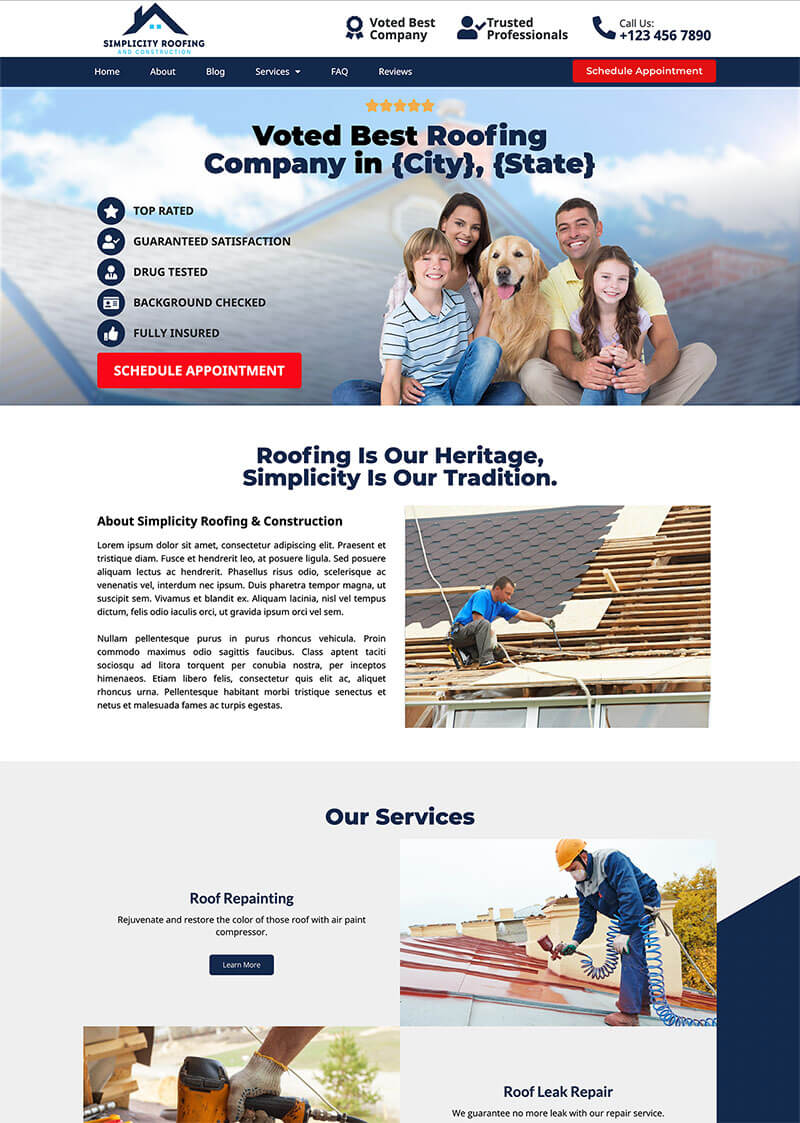 Simplicity Home Service And Constructions